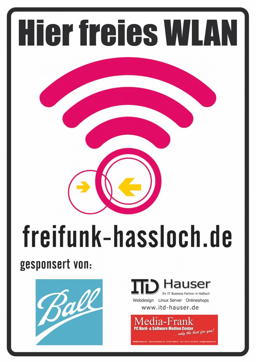 Freifunk wedding